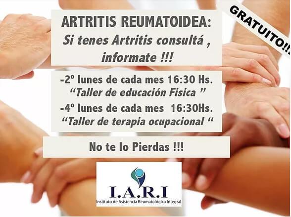 Artritis Reumatoidea – Talleres de Actividad física