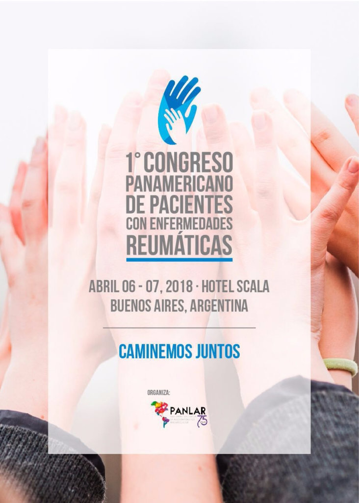 1º Congreso Panamericano de Pacientes – 6 de abril de 2018