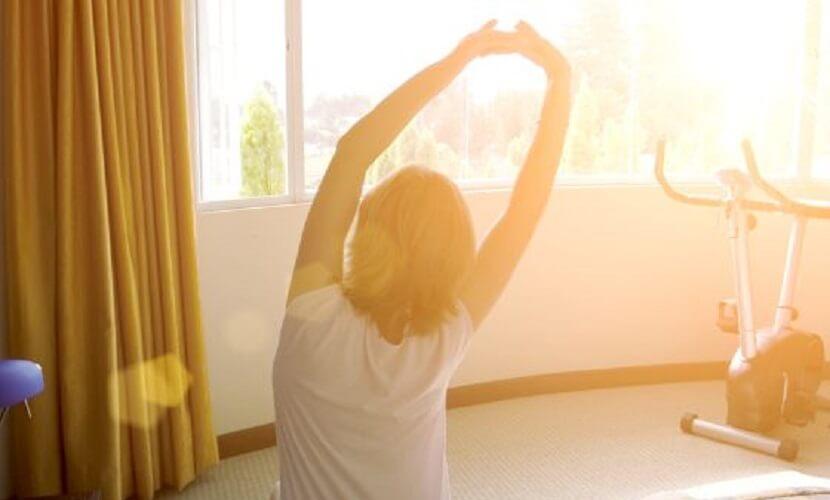 Ejercicios para la Artritis desde la cama