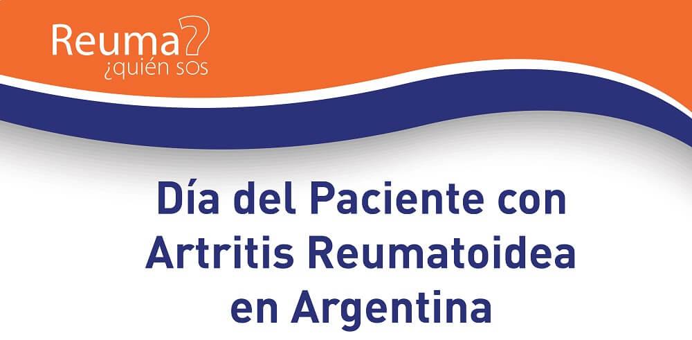 Hoy conmemoramos el día del Paciente con Artritis Reumatoidea en Argentina