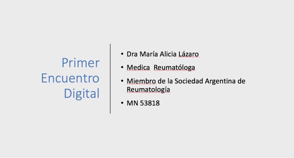 Presentación Encuentro Digital – COVID-19
