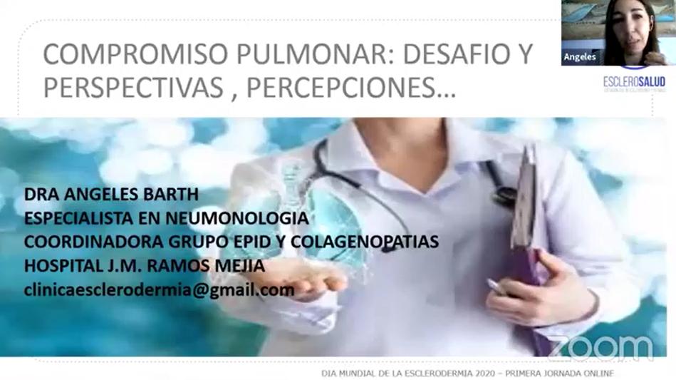 Compromiso pulmonar intersticial en esclerodermia