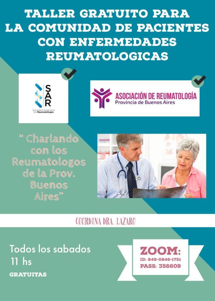 Charlando con los Reumatólogos de la Provincia de Buenos Aires