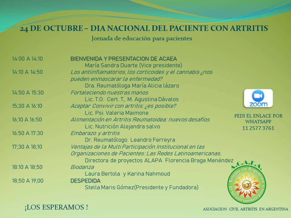 Jornada de Educación para pacientes