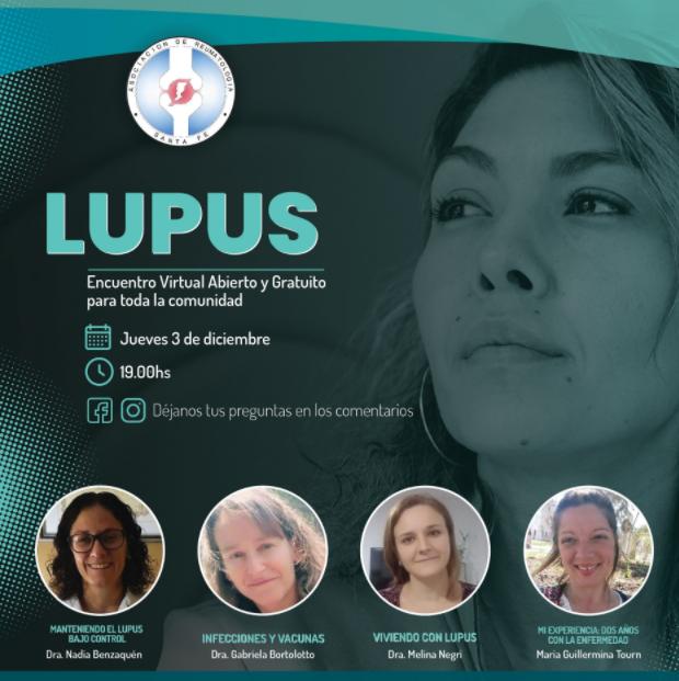 LUPUS: Encuentro virtual abierto y gratuito para toda la comunidad