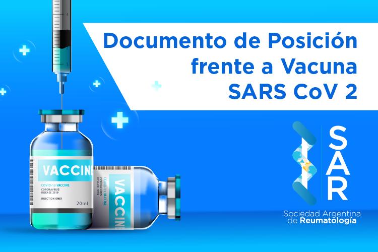 COVID 19 – Documento de Posición frente a Vacuna SARS CoV 2