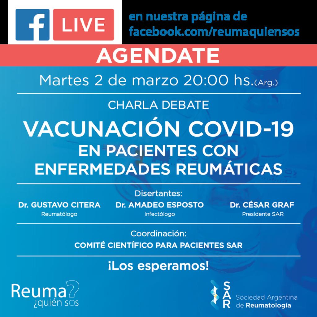 Charla Debate Vacunación COVID-19