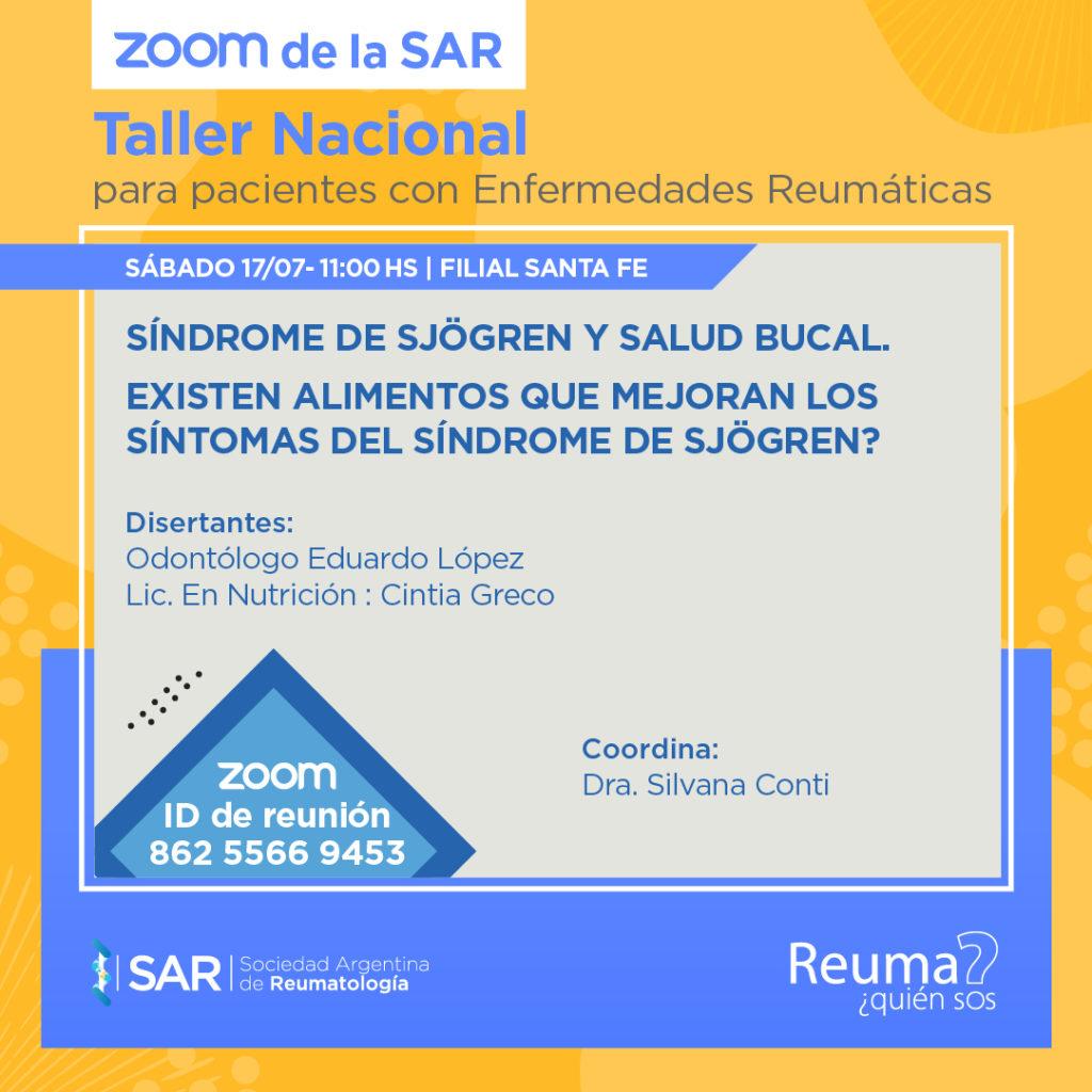 Taller Nacional de Pacientes de Reumatología – Clase 15