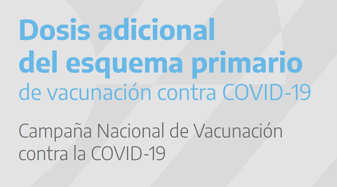 NOVEDAD – Vacuna COVID-19 – Tercera dosis para pacientes inmunosuprimidos